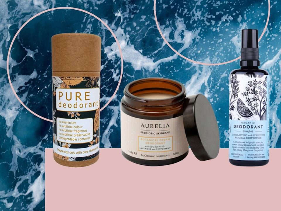 <p>These alternatives are less likely to cause irritation or stain the underarm area of your clothes or bras</p> (The Independent)