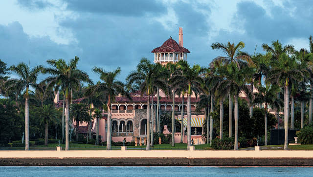 The Mar-a-Lago resort in Palm Beach, Florida. © 2020 The New York Times