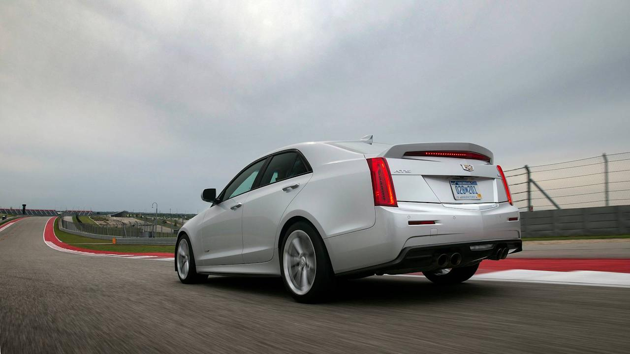 <p>Cadillac also offers the ATS coupe and sedan with a tubocharged 2.0-liter engine making 272 horsepower and 295 pound-feet of torque. The ATS with the 3.6-liter engine is only available with an automatic transmission.</p>