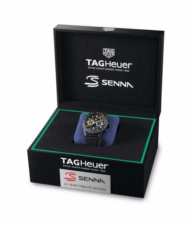 TAG Heuer pays homage to Ayrton Senna and Fangio with three limited editions