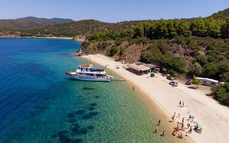 Greece's tourism industry has been hit hard by travel restrictions - Getty