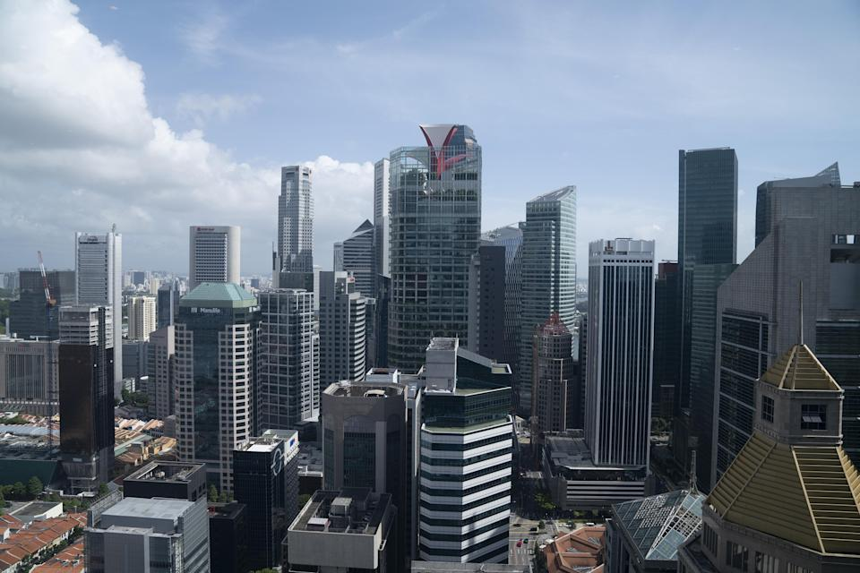 Singapore's Central Business District. PHOTO: Wei Leng Tay/Bloomberg via Getty Images