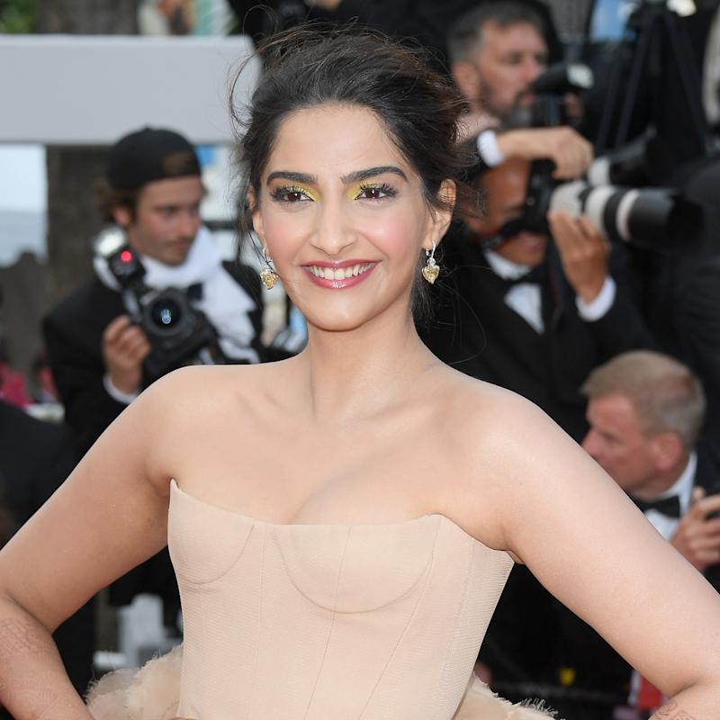This Bollywood Actress Just Stepped Out in the Most Head-Turning Henna at Cannes