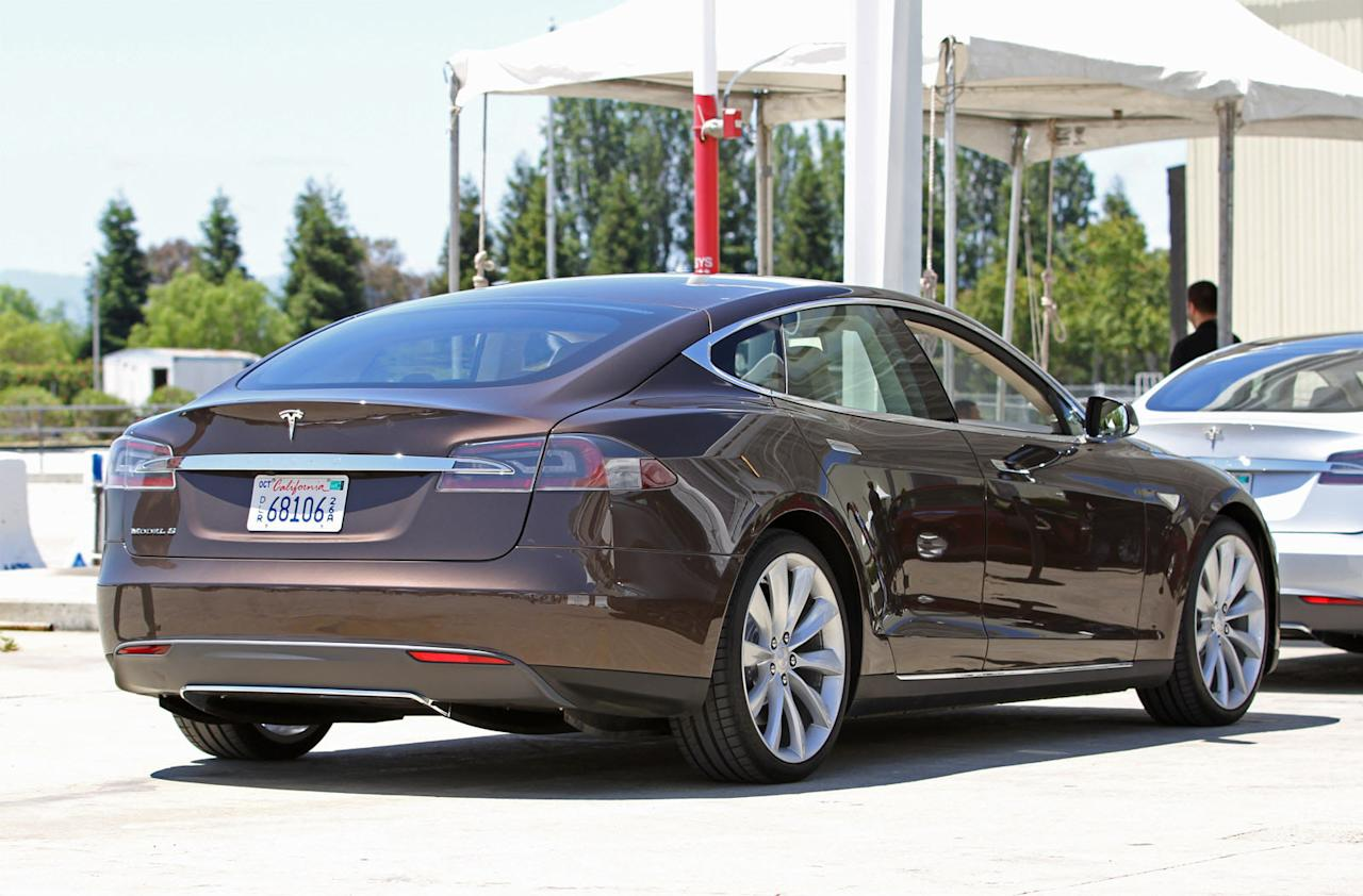 First Drive Tesla Model S