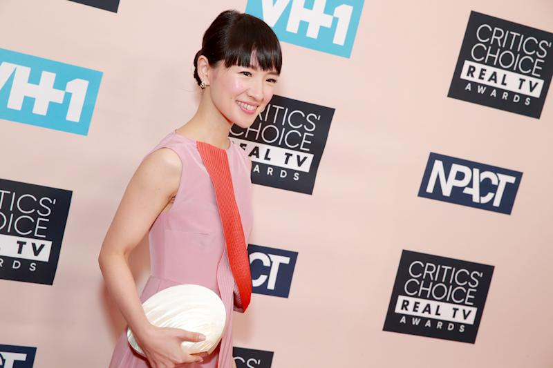 Japanese organising consultant Marie Kondo's TV show became an unlikely hit. (Photo by Rich Fury/Getty Images)