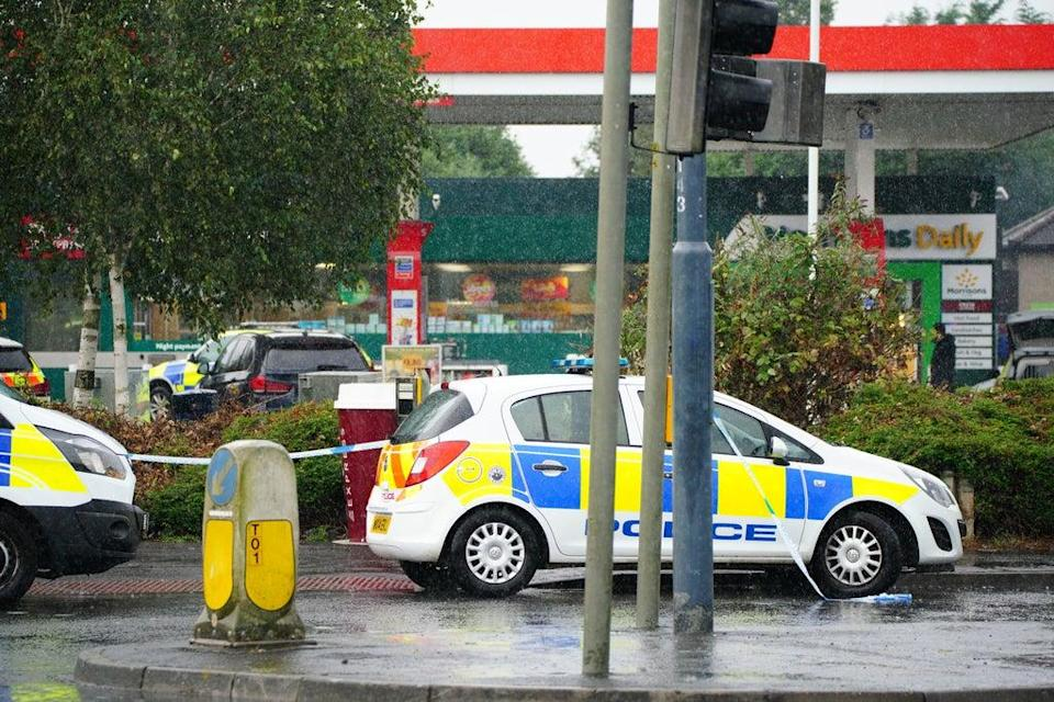 Police at the scene of an incident in Hengrove Way (PA) (PA Wire)