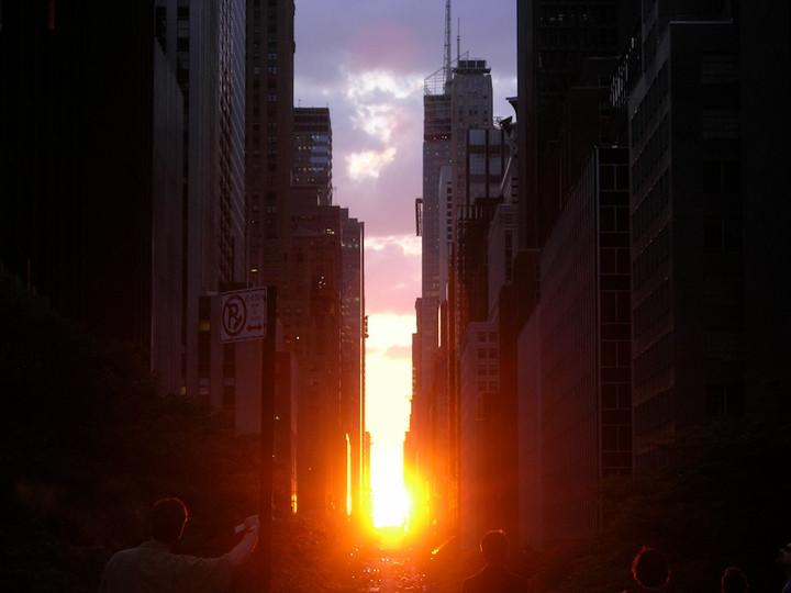 """If you're in New York City this Memorial Day weekend, the summer phenomenon known as """"Manhattanhenge"""" will make a visit. Find out what it is, and how to capture the event with a camera."""