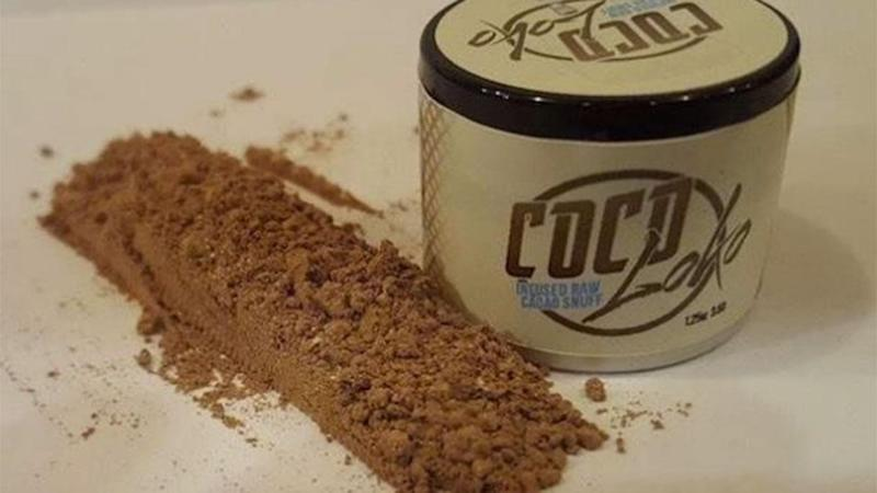 Coco Loko is chocolate you can snort. Photo: Instagram