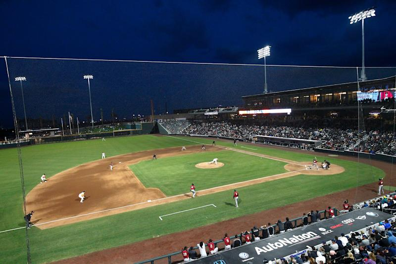 Minor league players earn major victory in wages lawsuit against MLB. (Photo by Jeff Speer/Icon Sportswire via Getty Images)