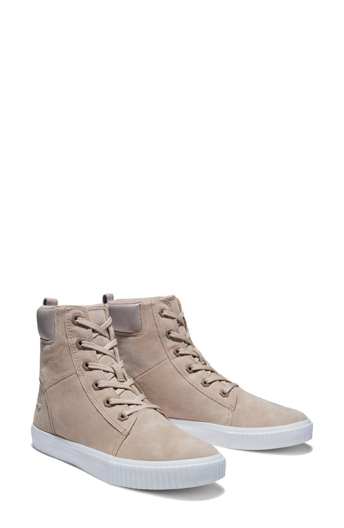 """<p><strong>TIMBERLAND</strong></p><p>nordstrom.com</p><p><strong>$90.00</strong></p><p><a href=""""https://go.redirectingat.com?id=74968X1596630&url=https%3A%2F%2Fwww.nordstrom.com%2Fs%2Ftimberland-sky-bay-lace-up-bootie-women%2F5807570&sref=https%3A%2F%2Fwww.goodhousekeeping.com%2Fclothing%2Fg36292464%2Fbest-summer-boots%2F"""" rel=""""nofollow noopener"""" target=""""_blank"""" data-ylk=""""slk:Shop Now"""" class=""""link rapid-noclick-resp"""">Shop Now</a></p><p>While most Timberland boots are heavy and warm, these booties are <strong>breathable and lightweight</strong> <strong>enough to wear all summer long.</strong> At $50, these booties are an excellent value for how versatile they are — they can easily be styled as boots or high top sneakers! </p>"""