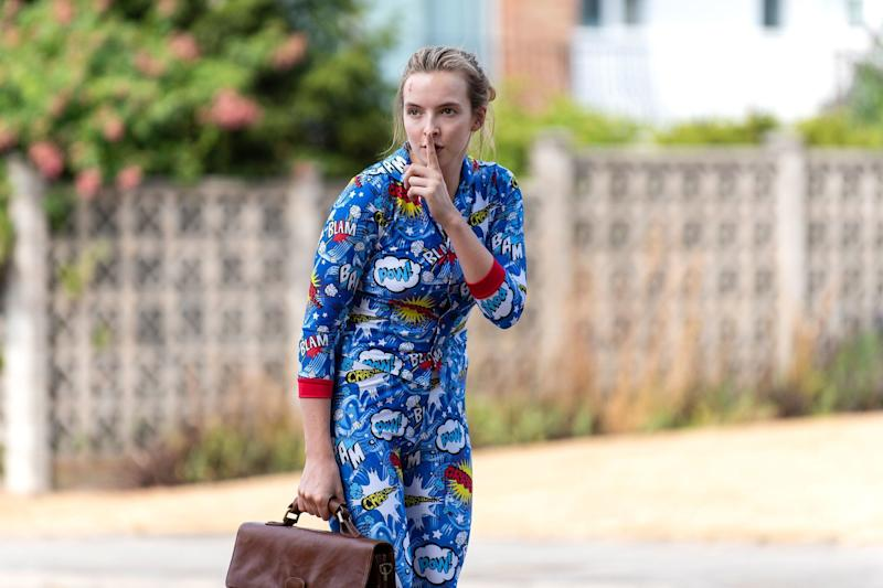 Jodie Comer as Villanelle in series two  (Photo: BBC America)