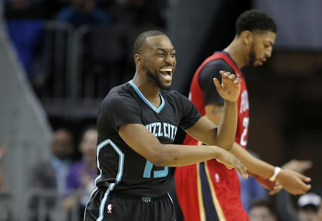 The Hornets and Pelicans need to be creative in getting help for Kemba Walker and Anthony Davis, respectively. (AP)