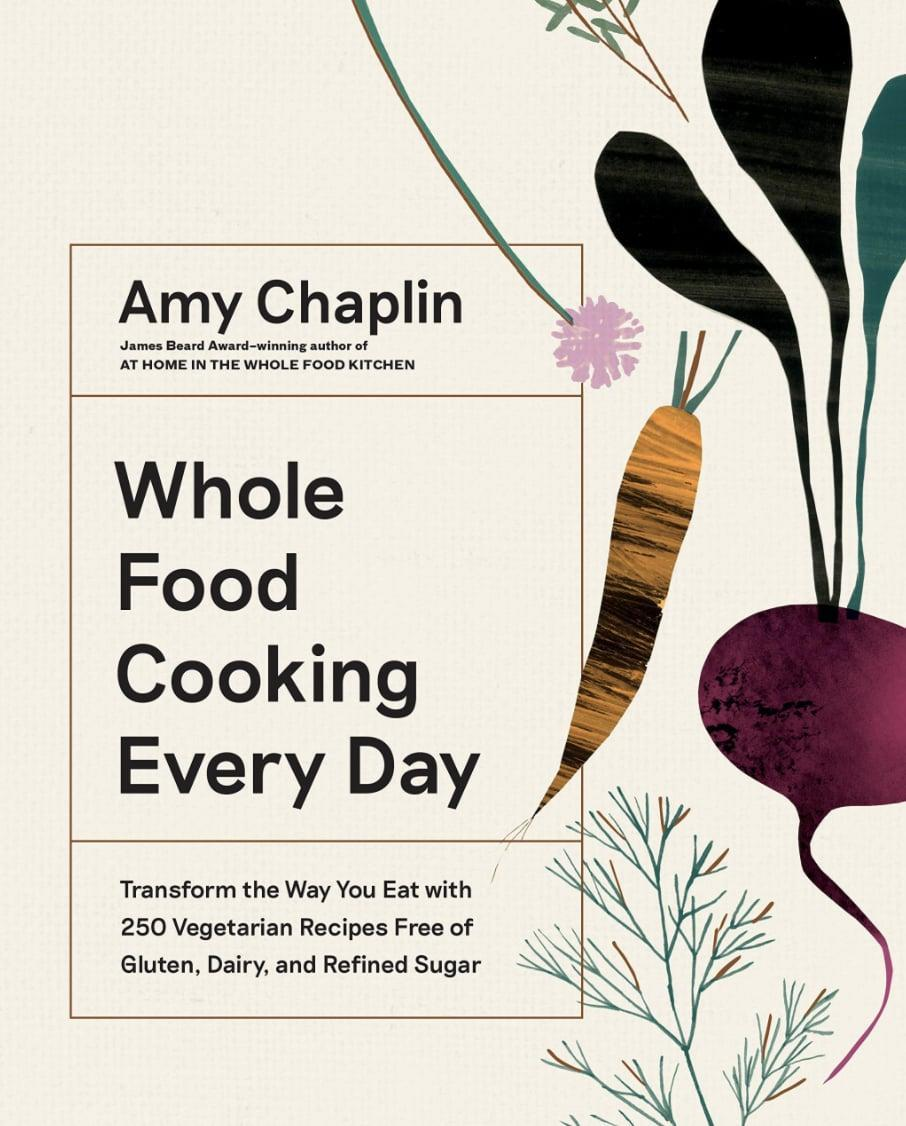 <p>Amy Chaplin's <span><strong>Whole Food Cooking Every Day Cookbook: Transform the Way You Eat With 250 Vegetarian Recipes Free of Gluten, Dairy, and Refined Sugar</strong></span> ($26) has earned praise from publications and fans alike. It also won the James Beard Award for Best Book in Vegetable-Focused Cooking. There are over 250 gluten, dairy, and refined sugar-free recipes that encourage readers to cook with nutrient-forward whole ingredients.</p>
