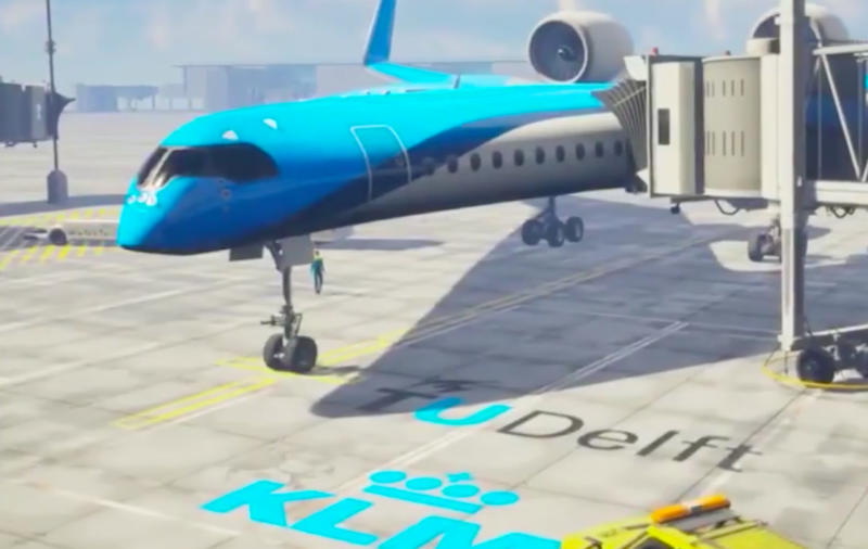 Huge win for fuel-efficient 'Flying-V' airplane, a peek at the future of flight