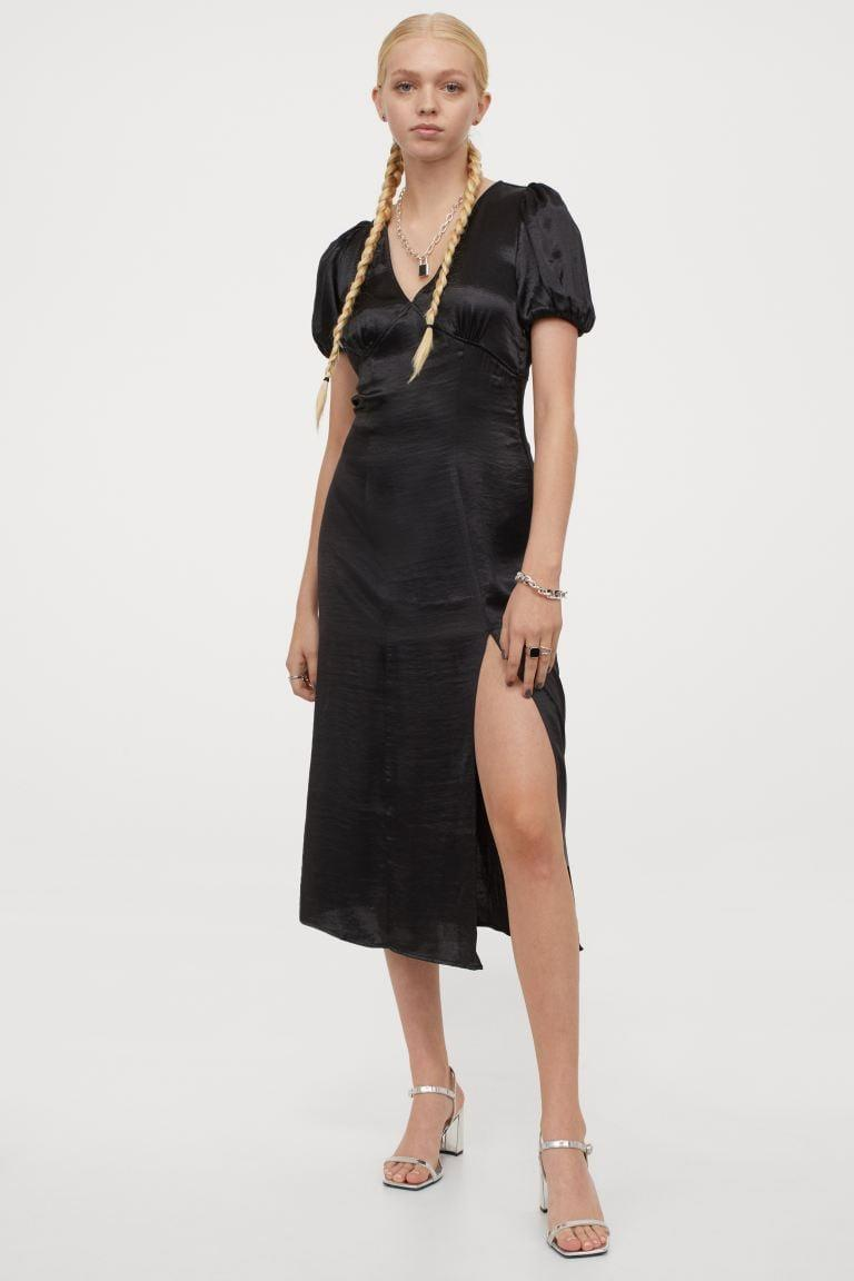 <p>This sultry <span>V-neck Dress</span> ($30) is a fantastic choice for date night.</p>