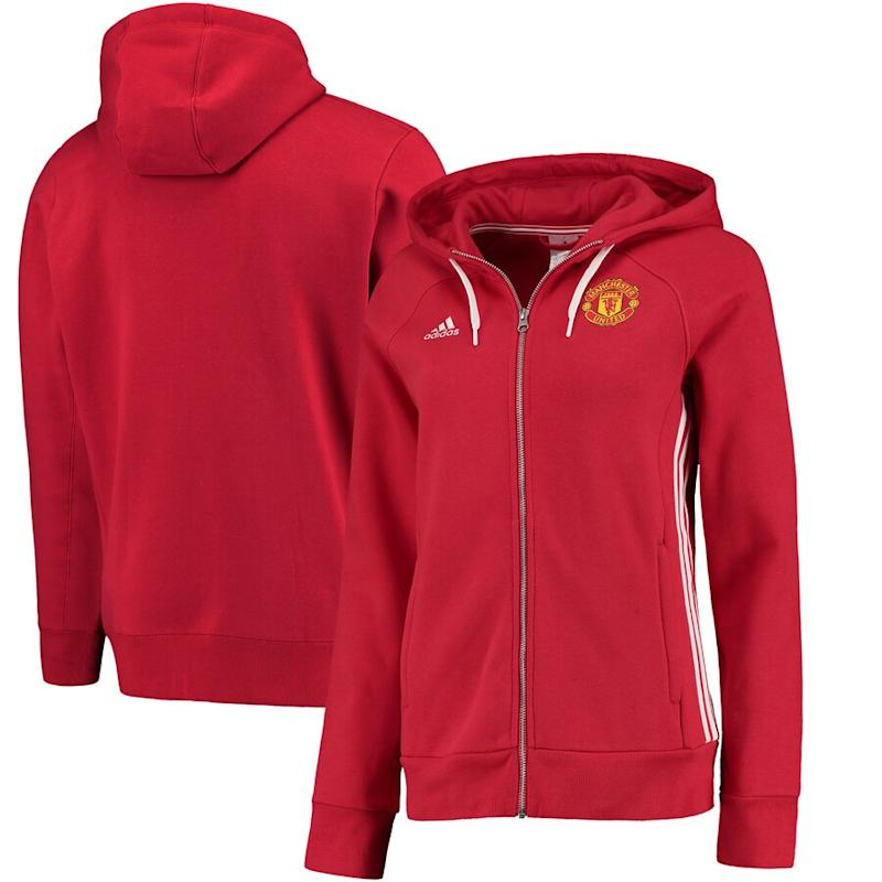 Women's United 3-Stripe Full-Zip Hoodie