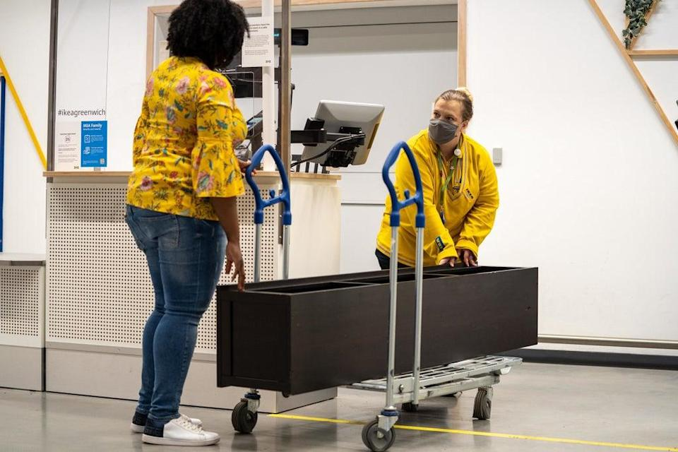 Ikea is facing a shortage of mattresses. (CPG Photography/Ikea/PA) (PA Media)
