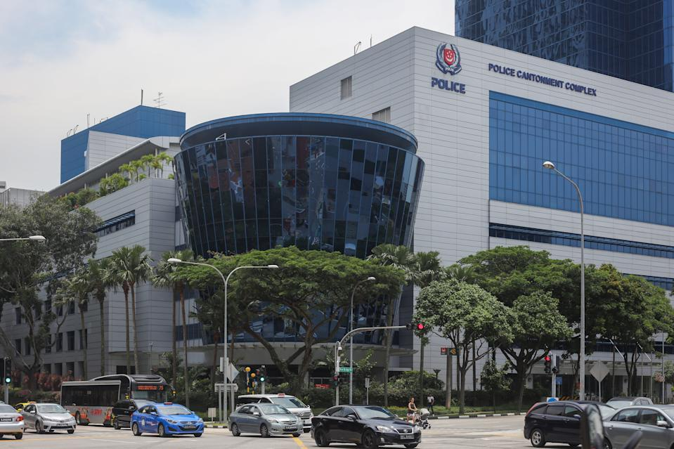 The Police Cantonment Complex. (PHOTO: Yahoo News Singapore)