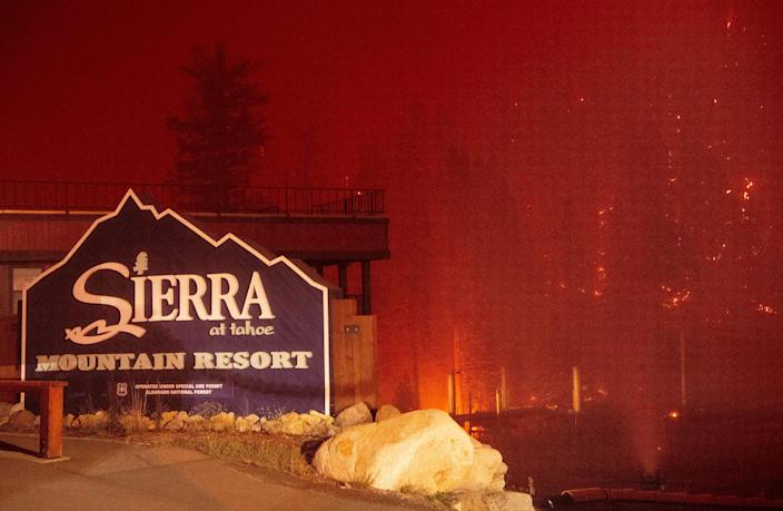 Before and after photos reveal the horror of the Caldor fire in California near Lake Tahoe