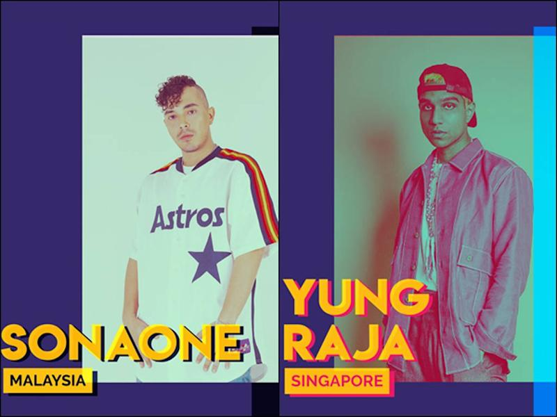 SonaOne and Yung Raja are among the headliners for URBN.SENI's opening weekend.
