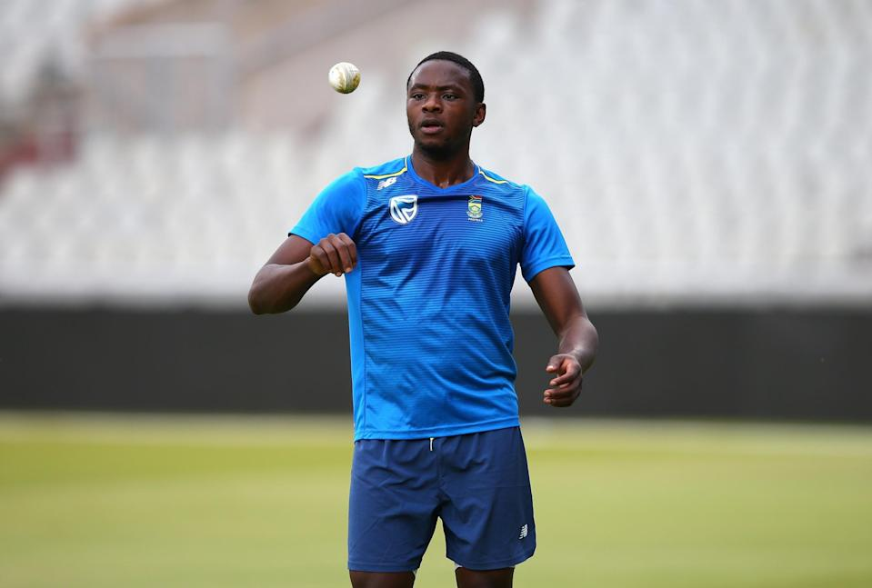 Bowler Kagiso Rabada is among several South African starts currently playing in the IPL (Getty Images)