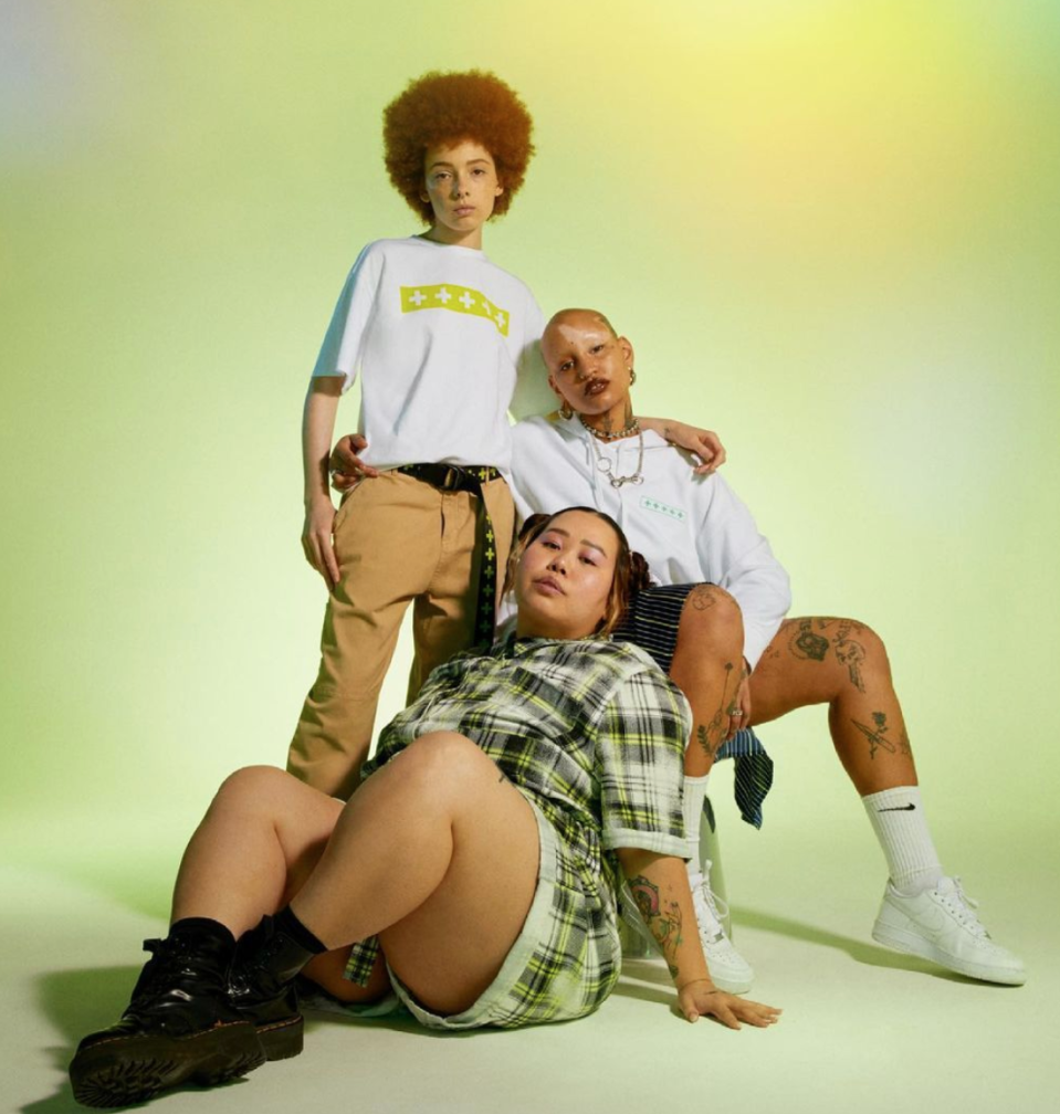 Nordstrom and gender-fluid fashion brand Wildfang team up to smash gender norms (Photo via wearewildfang/Instagram).