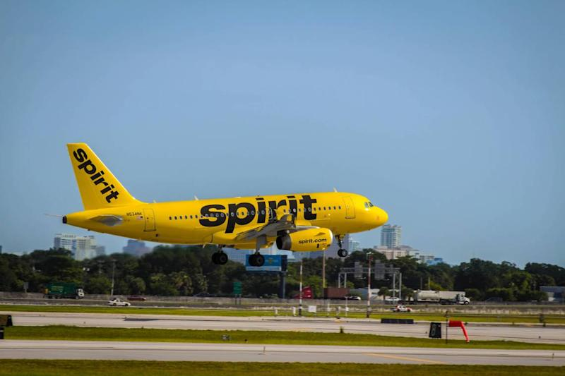 Spirit Airlines passenger says she woke up to man sexually assaulting her in her seat