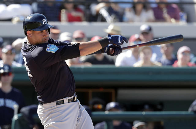Gary Sanchez is in a tier of his own entering 2018 (AP/John Raoux)