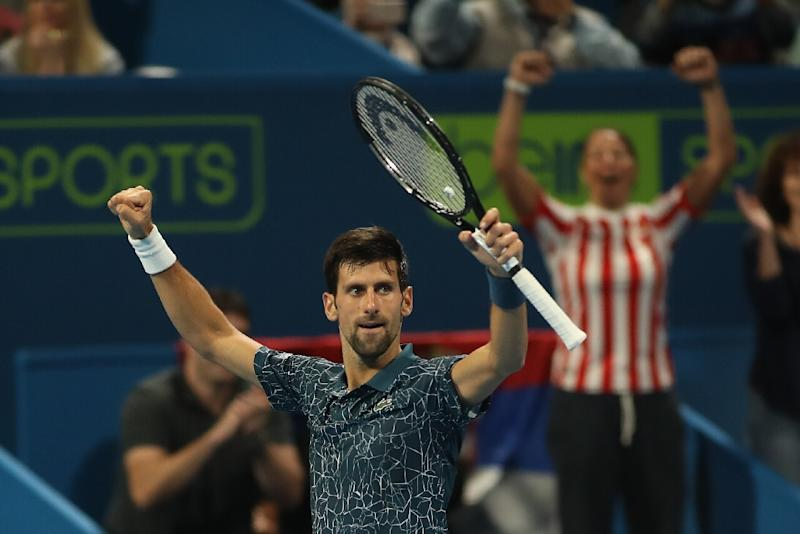 Frustrated Djokovic targets 'trophy' in Australian Open