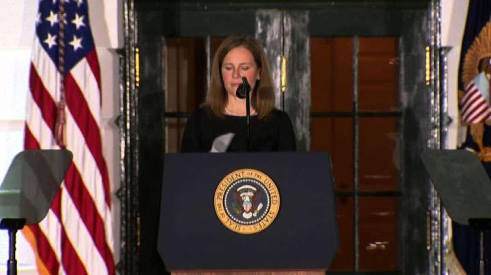 Amy Coney Barrett confermata a Corte Suprema Usa, vittoria Trump