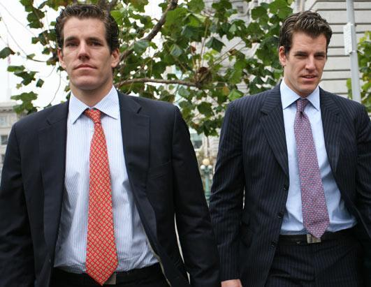 """One day after the Cameron and Tyler  Winklevoss dropped their appeal to the U.S. Supreme court in a $65 million Facebook settlement dispute, the twins  have decided to move ahead with another lawsuit. The twins, who were made famous by their portrayal in  """"The Social Network,"""" and their business partner Divya Narendra are pushing for discovery in a claim that Facebook suppressed evidence – instant messages between Zuckerberg and the Winklevosses – in the 2008 settlement over whether Zuckerberg stole their idea for Facebook, according to the Wall Street Journal."""