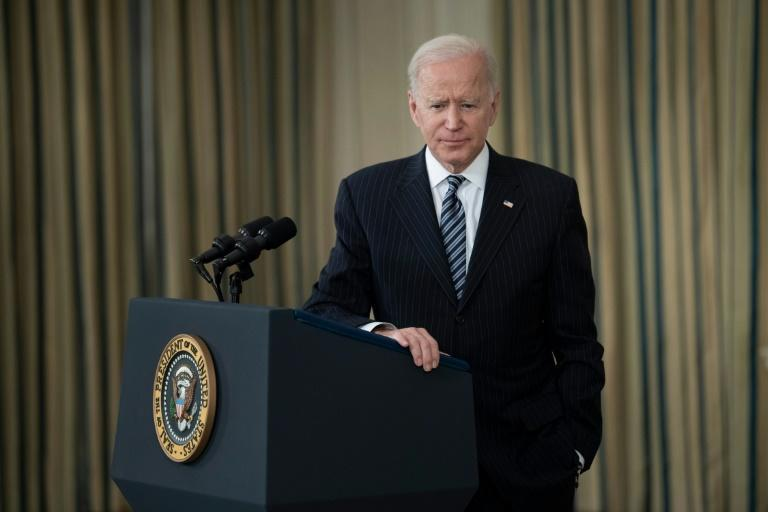 US President Joe Biden accelerates the timeline for allowing all adults in the US to get vaccines