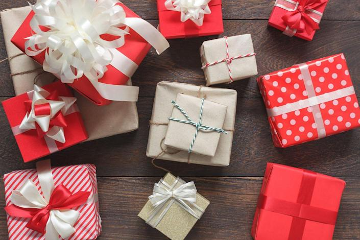 """<p>A """"Favorite Things"""" gift exchange is essentially a positive spin on a <a href=""""https://www.goodhousekeeping.com/holidays/gift-ideas/g4572/creative-white-elephant-gift-ideas/"""" rel=""""nofollow noopener"""" target=""""_blank"""" data-ylk=""""slk:white elephant gift"""" class=""""link rapid-noclick-resp"""">white elephant gift</a> exchange, says Tara Berger, founder of <a href=""""https://onestylishparty.com/"""" rel=""""nofollow noopener"""" target=""""_blank"""" data-ylk=""""slk:One Stylish Party"""" class=""""link rapid-noclick-resp"""">One Stylish Party</a>, an entertaining blog and online party boutique. Instead of a silly gag gift, each guest brings three, low-cost items they absolutely <em>love</em>. The gifts are placed on a table and everyone takes turns picking out three items to keep. """"It is a great way to introduce your friends to some of your must-have items and it doesn't require you to tailor the gift to a specific person.""""</p>"""