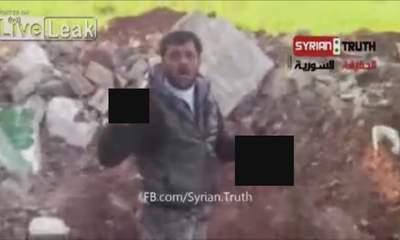 Syrian Rebel 'Cuts Out Soldier's Heart'