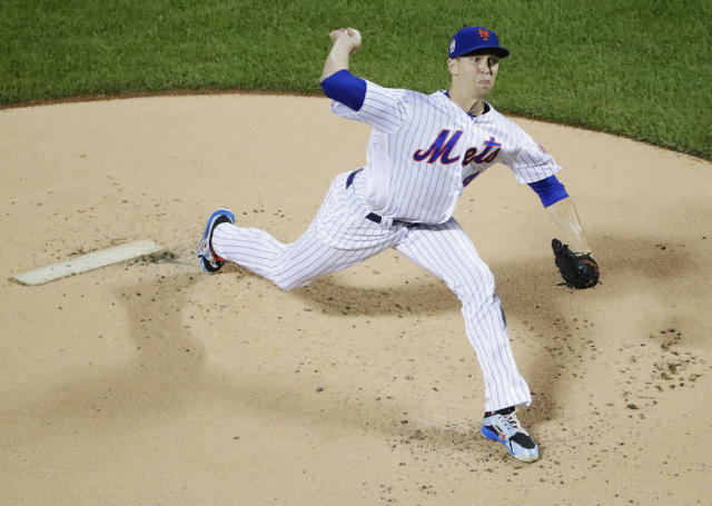 Jacob deGrom's ridiculous season continued with a ridiculous stat. (AP Photo)