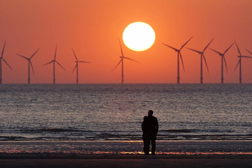 <p>Denmark hopes to use wind energy instead</p>Getty Images