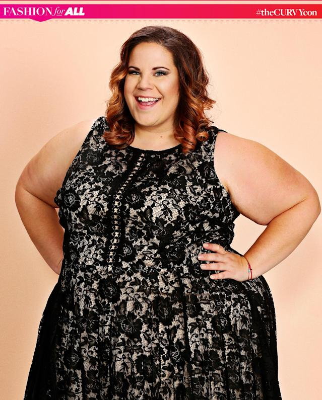"Whitney Way Thore is a panelist at theCURVYcon, the body-positive conference  <a href=""https://www.yahoo.com/style/women-behind-plus-size-fashion-event-thecurvycon-spill-years-secrets-130045348.html"" data-ylk=""slk:headlined by actress Chrissy Metz;outcm:mb_qualified_link;_E:mb_qualified_link"" class=""link rapid-noclick-resp newsroom-embed-article"">headlined by actress Chrissy Metz</a> that will be live-streamed  <a href=""https://www.yahoo.com/style/curvycon-watch-live-135500219.html"" data-ylk=""slk:exclusively on Yahoo Style;outcm:mb_qualified_link;_E:mb_qualified_link"" class=""link rapid-noclick-resp newsroom-embed-article"">exclusively on Yahoo Style</a> on Friday, Sept. 8, at 6 p.m. and at 10 a.m. on Saturday, Sept. 9. (Photo: Joseph Bradley)."