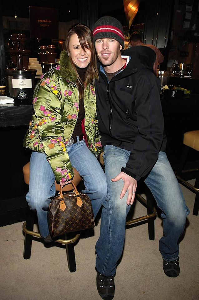 """Trista and Ryan Sutter, stars of the very first season of """"The Bachelorette,"""" expanded their family on April 3 when their daughter, Blakesley Grace, arrived. Big brother Max is 2. Jamie McCarthy/<a href=""""http://www.wireimage.com"""" target=""""new"""">WireImage.com</a> - January 20, 2006"""