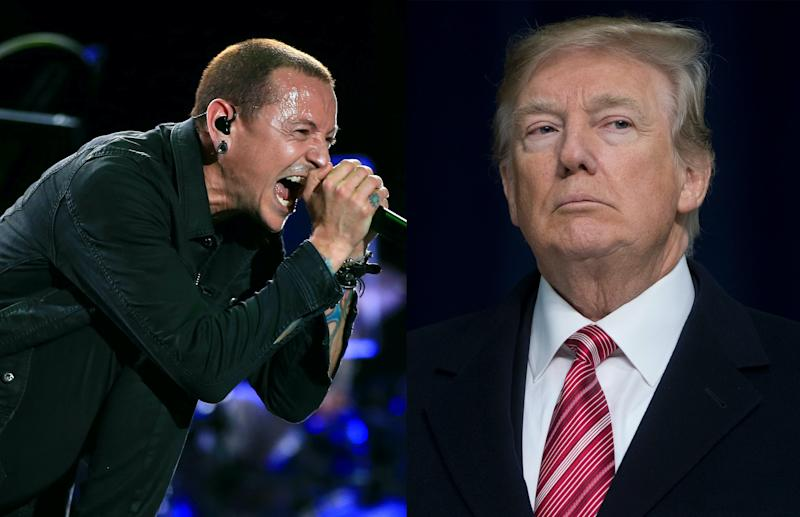 Linkin Park complaints after Donald Trump uses band`s music for campaign video