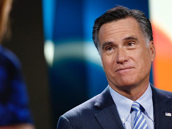 Mitt Romney in 2014.