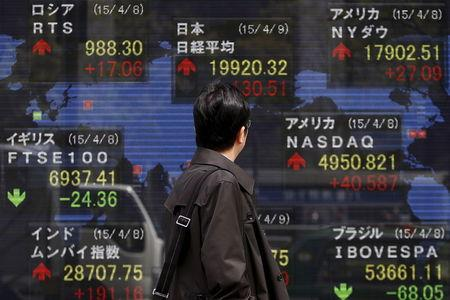 Asian equities rose in afternoon trade amid signs of easing U.S.-China trade tension