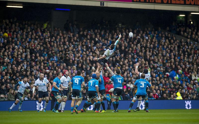 line out - Credit: Watson/INPHO/REX/Shutterstock