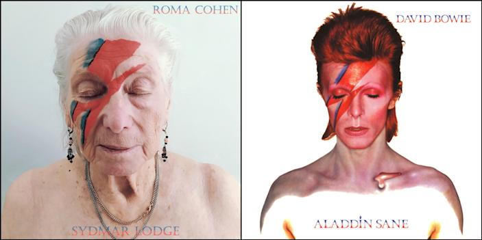 Resident Roma Cohen committed to this Bowie makeover. (Photo: Sydmar Lodge/Robert Speker)