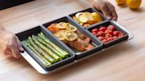 <p>The <span>Cheat Sheets Tall Dividers Set</span> ($40) will make baking and braising multiple items at once a lot easier. The four-piece set is perfect for creating the perfect sides to your dinners and even meal prepping.</p>