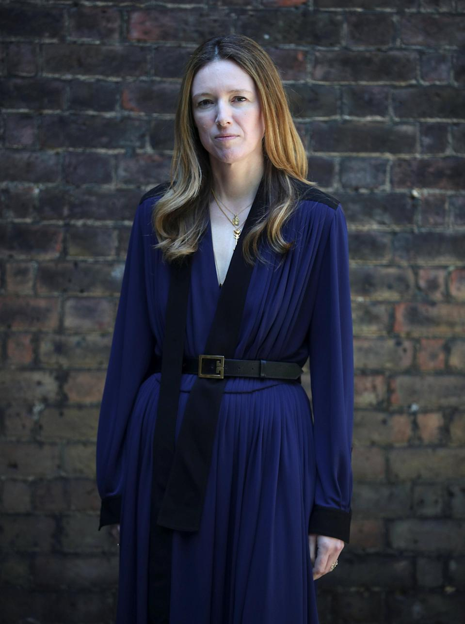 Clare Waight Keller, designer at Givenchy, created Markle's dress. (Photo: Hannah McKay/Pool/Reuters)