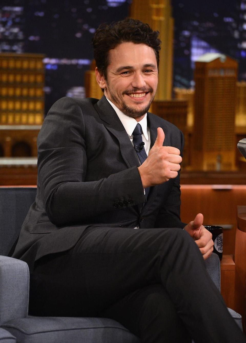 """<p>""""<em>Your Highness</em>? That movie sucks,"""" Franco told <em><a href=""""http://www.etonline.com/news/134004_James_Franco_Covers_GQ_Comedy_Issue"""" rel=""""nofollow noopener"""" target=""""_blank"""" data-ylk=""""slk:GQ"""" class=""""link rapid-noclick-resp"""">GQ</a></em> of the medieval parody. """"You can't get around that.""""</p>"""