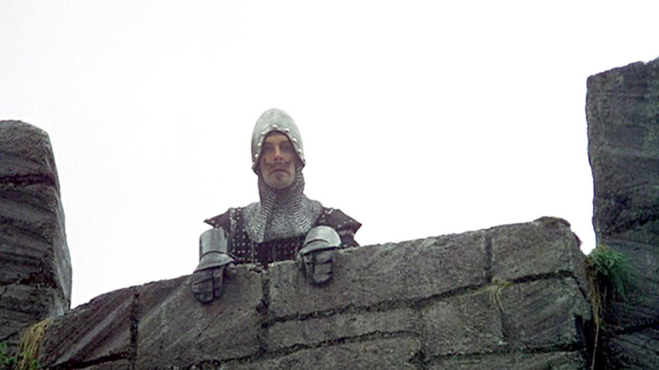 <p> <strong>Non-Netflix original available in US/UK</strong> </p> <p> King Arthur (Graham Chapman) and his Knights of the Round Table ride off in search of the titular goblet. Well, it&apos;d be more accurate to say that they&#xA0;<em>pretend</em>&#xA0;to ride on horses while their servants provide the coconut-based sound effects. The medieval set-up makes way for some of Monty Python&apos;s most memorable jokes; the Knights who say &quot;ni&quot;, the French soldiers who sling insults at Arthur and his knights, the entire &quot;&apos;Tis but a scratch&quot; sequence... There&apos;s loads.&#xA0;&#xA0; </p> <p> Not every comedy appeals to every palette. Some people like broader physical humour, others might prefer satire. When it comes to Monty Python and the Holy Grail, it&apos;s tough to imagine who wouldn&apos;t enjoy it. It&apos;s got everything. Slapstick shenanigans, fourth-wall-breaking, innuendo, deadpan delivery and surrealism all play a part.&#xA0;Watching it today, you can spot styles and ideas pinched by later comedians, but no-one does this mishmash of absurdity better than this bunch. After all, a great joke is only told the first time once.&#xA0; </p>