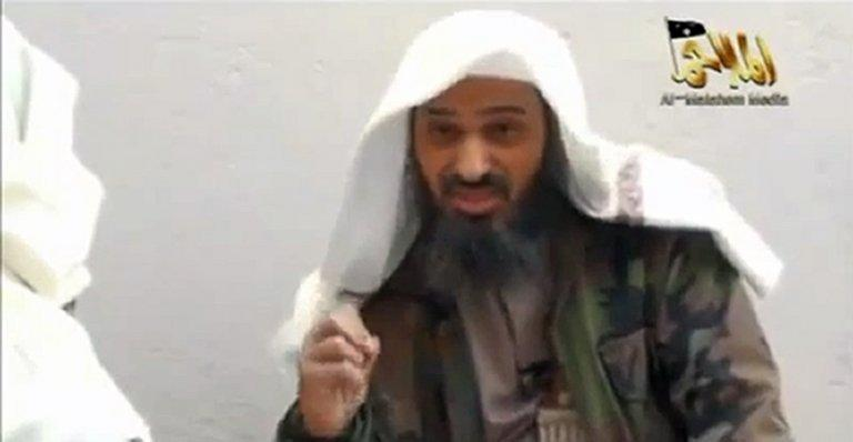 Image grab taken from a video uploaded on YouTube on May 11, 2012, shows Saudi national Saeed al-Shehri, the co-founder and second-in-command of Al-Qaeda in the Arabian Peninsula (AQAP). AQAP has confirmed the death in a US drone strike of Shehri, whose killing has been announced several times by the Yemeni government