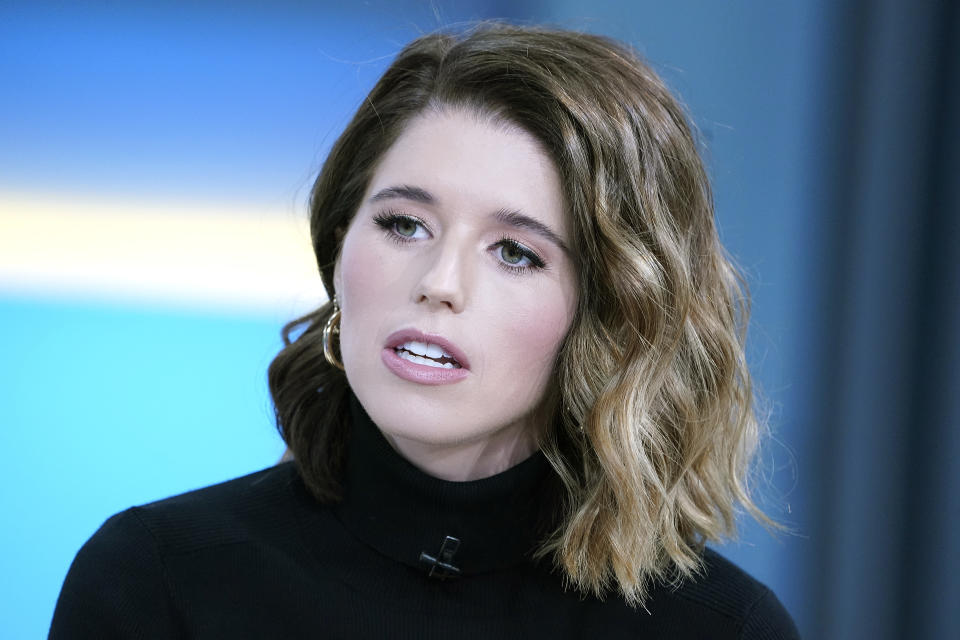 Katherine Schwarzenegger takes to Instagram to urge people to vote for Joe Biden after insensitive Trump tweet. (Photo: Getty Images)
