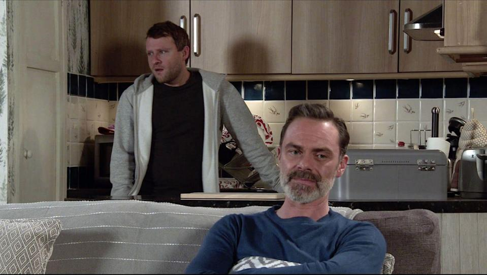 <p>He blames Paul for Summer's accident, as he brought Will into their lives.</p>